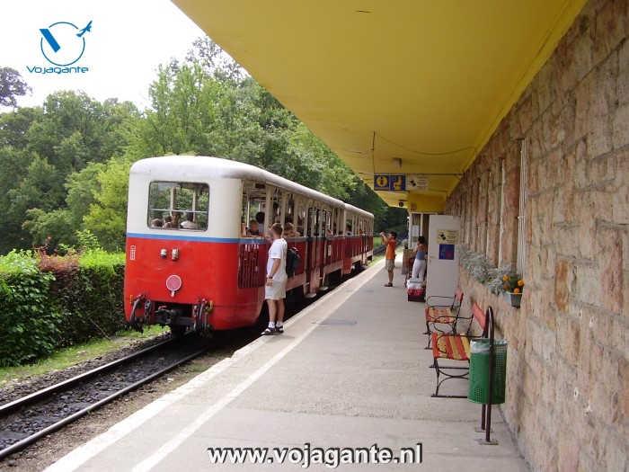 Boedapest - Kinderspoorweg