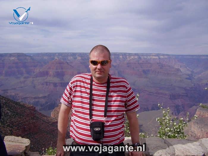 Vojagante - Ik bij de Grand Canyon in 2012