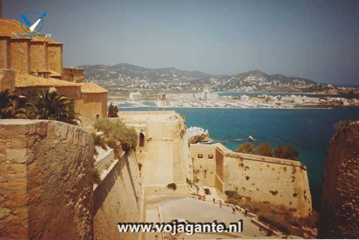 Vesting Ibiza-stad