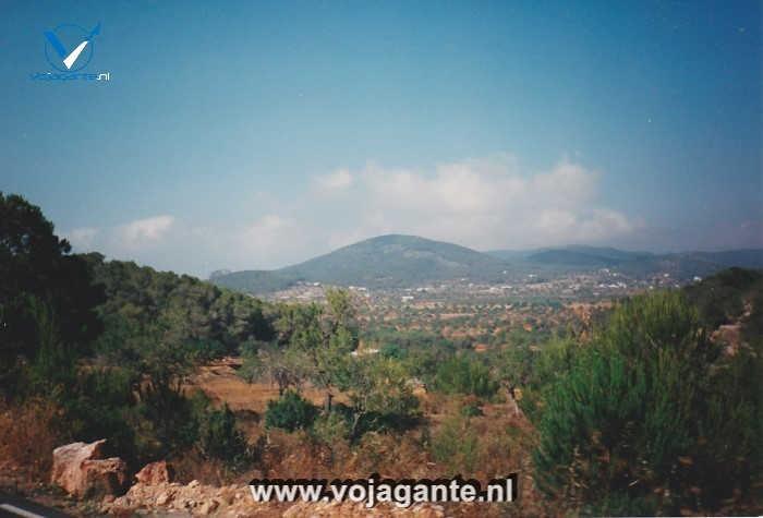 Ibiza- Heuvels in de buurt van San Antonio