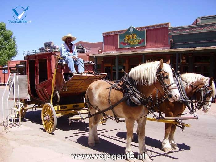 Tombstone Arizona - Stage Coach