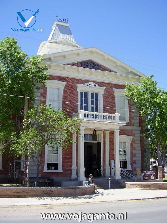 Tombstone Arizona - Cochise County Courthouse