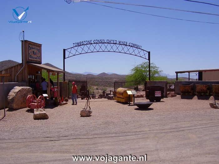 Tombstone Arizona - Tombstone Consolidated Mines Company
