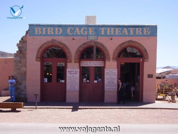 Tombstone Arizona - Bird Cage Theatre