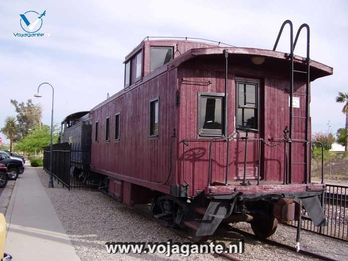 Wickenburg Arizona USA - Railroad Station