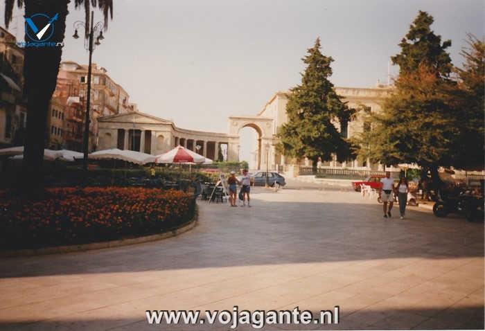 Corfu 1996 - Esplanade