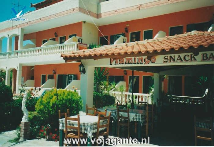 Corfu 2000 - Hotel Flamingo