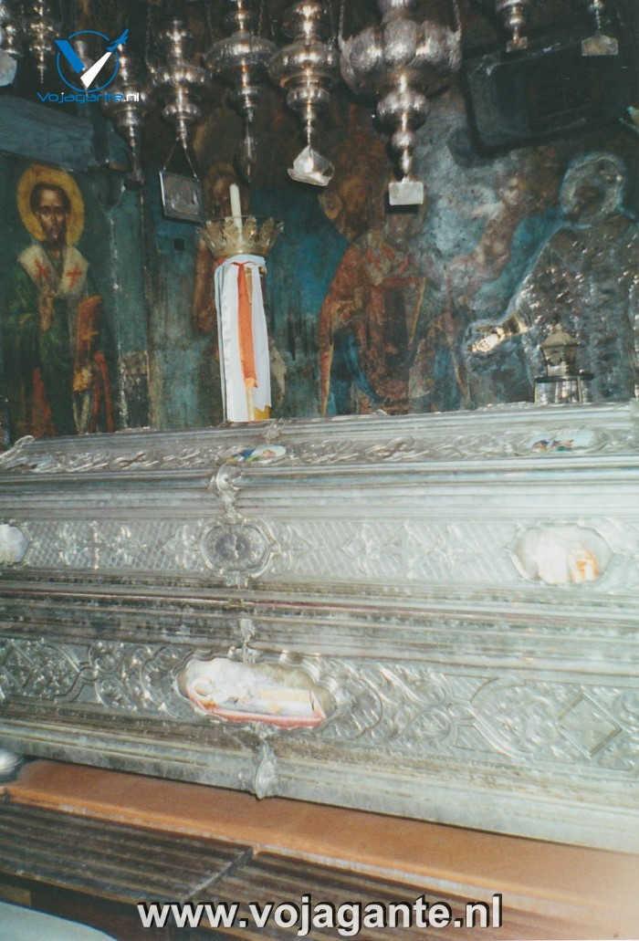 Corfu 2000 - Kist van Sint-Spyridon