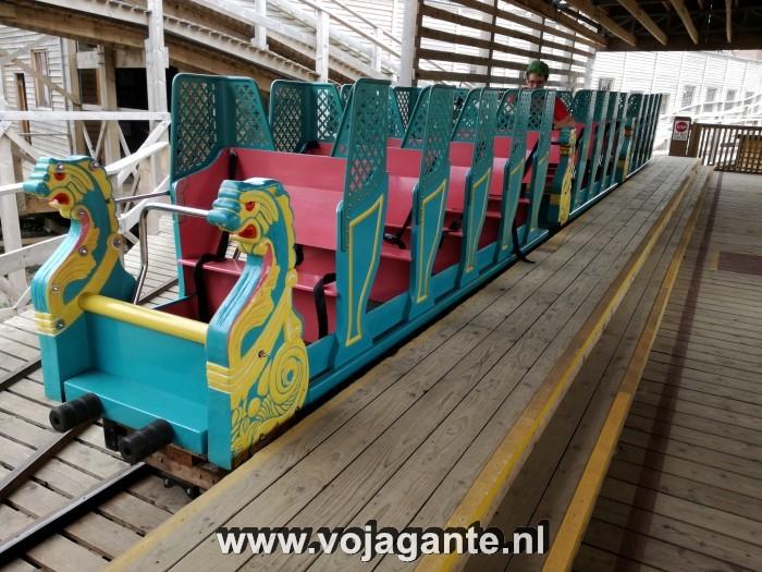 Dreamland Margate - Klassieke houten achtbaan
